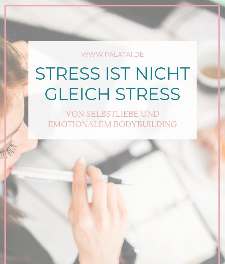 Stress – Von Selbstliebe und emotionalem Bodybuilding (Teil I)